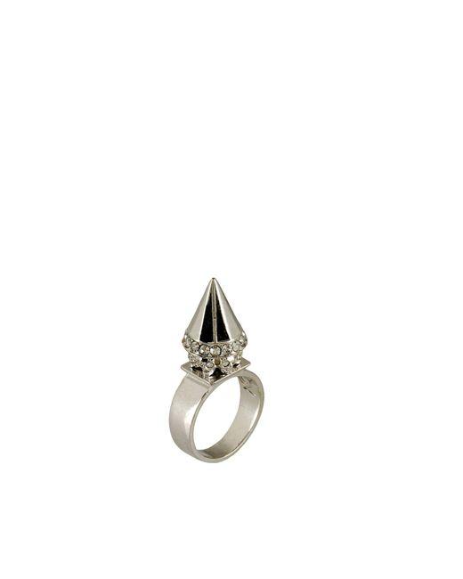 McQ Alexander McQueen | Metallic Ring | Lyst