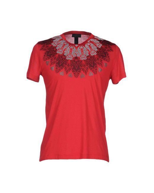 John Richmond - Red T-shirt for Men - Lyst