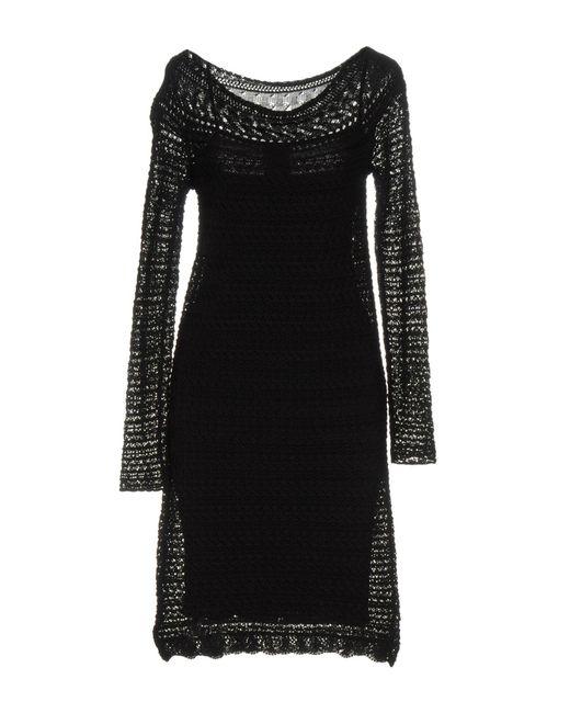 Liu Jo - Black Short Dresses - Lyst