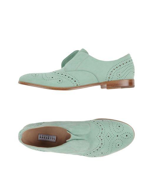 Fratelli Rossetti - Green Loafers for Men - Lyst