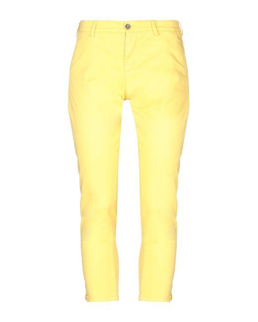 Pantalone di 40weft in Yellow
