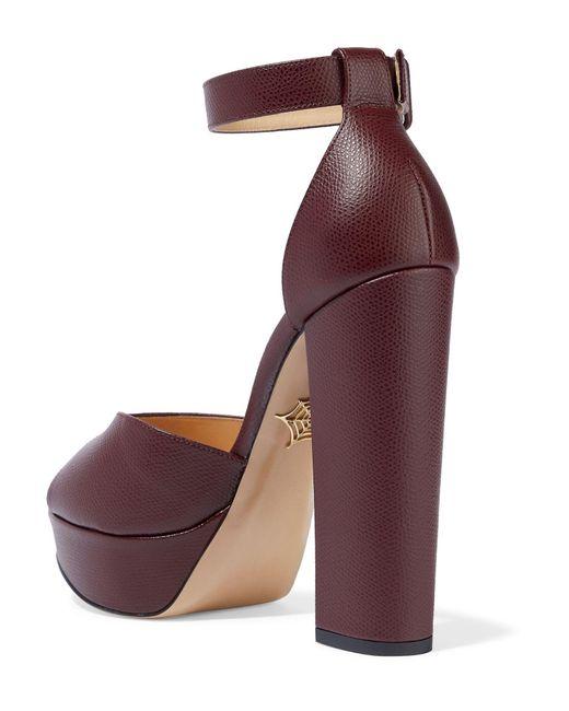 Charlotte Olympia Purple Sandale