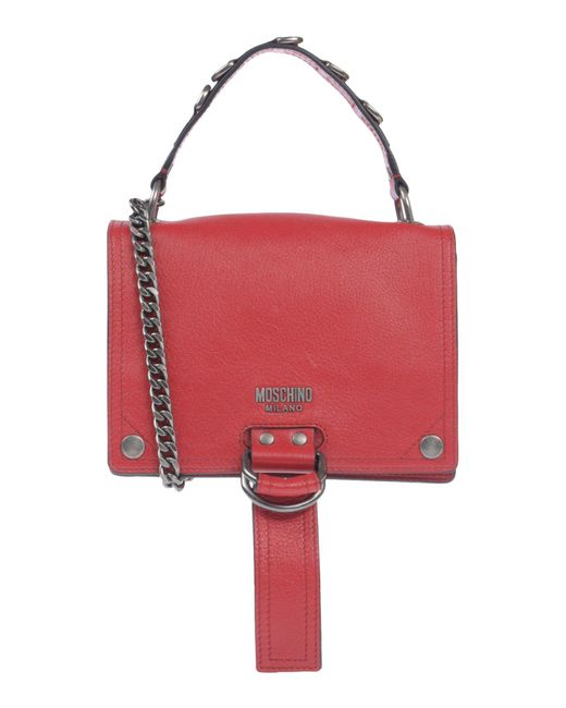 Moschino - Red Handbags - Lyst
