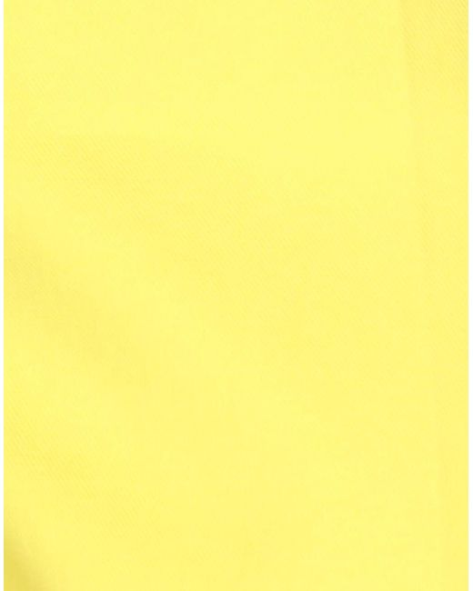 P.A.R.O.S.H. Pantalon femme de coloris jaune X2YC7
