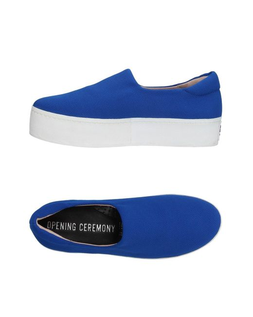 Opening Ceremony Blue Low-tops & Sneakers