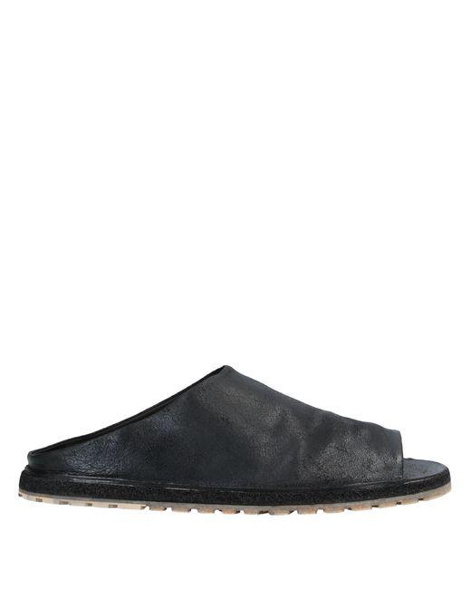 Marsèll Stracarro Sandal In Black for men