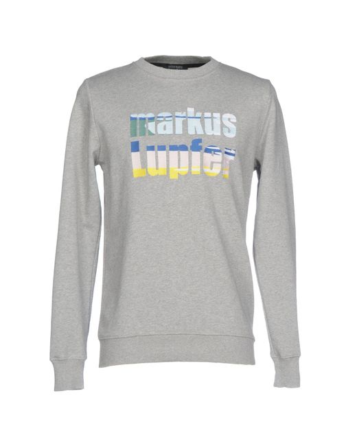 Markus Lupfer - Gray Sweatshirts for Men - Lyst