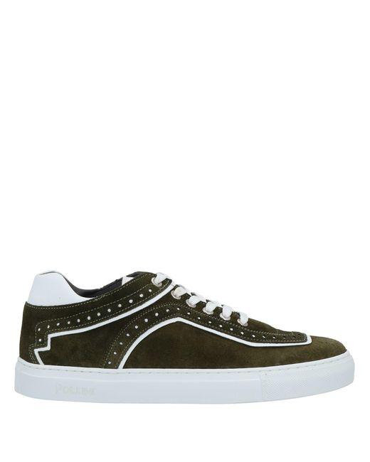 Pollini Green Low-tops & Sneakers for men