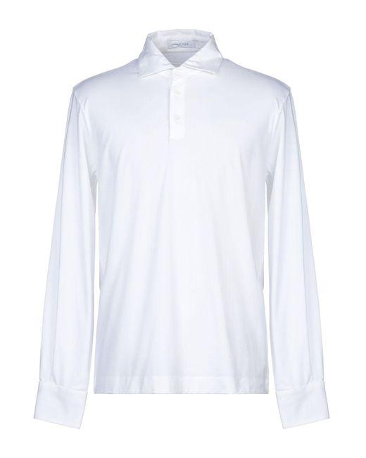 Polo di Cruciani in White da Uomo
