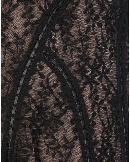 Jupe au genou Alexander Wang en coloris Black
