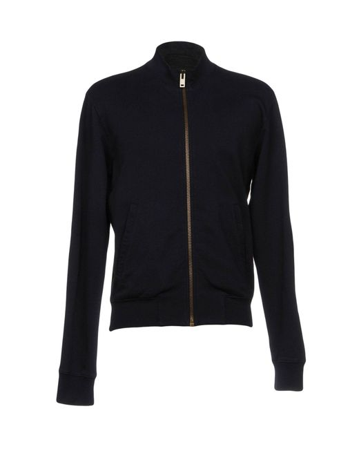 Maison Margiela - Blue Sweatshirt for Men - Lyst