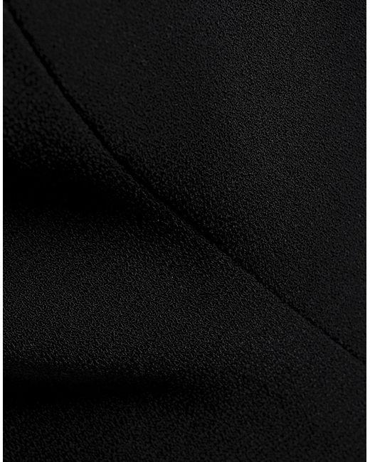 Robe aux genoux Halston Heritage en coloris Black