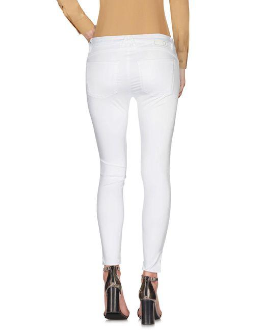 Pantalon Haikure en coloris White