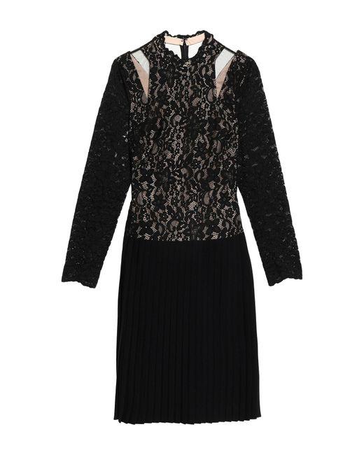 Mikael Aghal Black Knee-length Dress