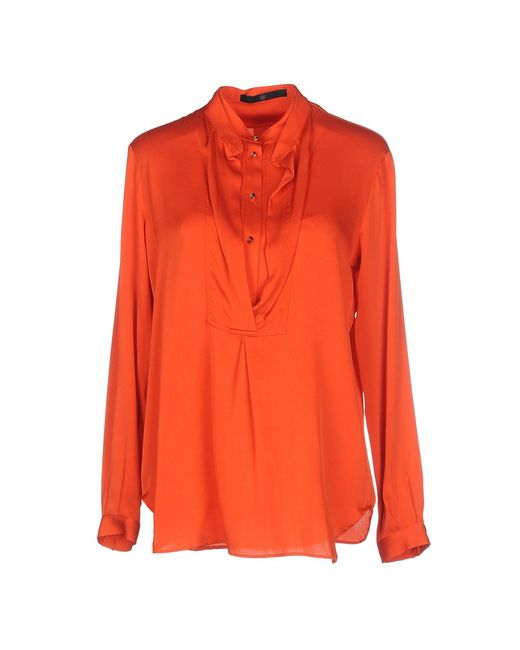 Sly010 - Orange Blouse - Lyst