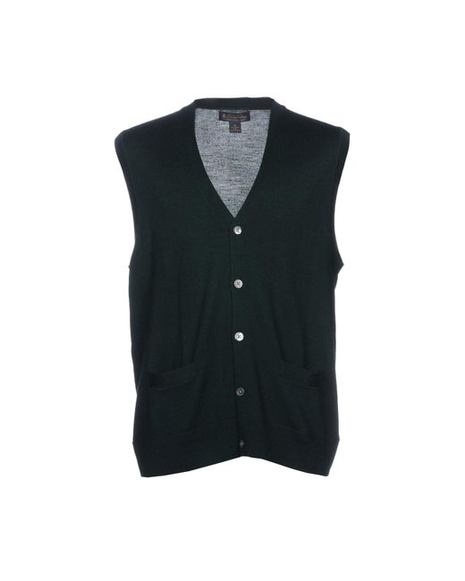 Brooks Brothers Green Cardigan for men