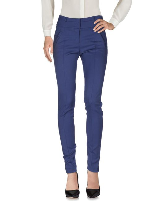 Armani Jeans - Blue Casual Trouser - Lyst
