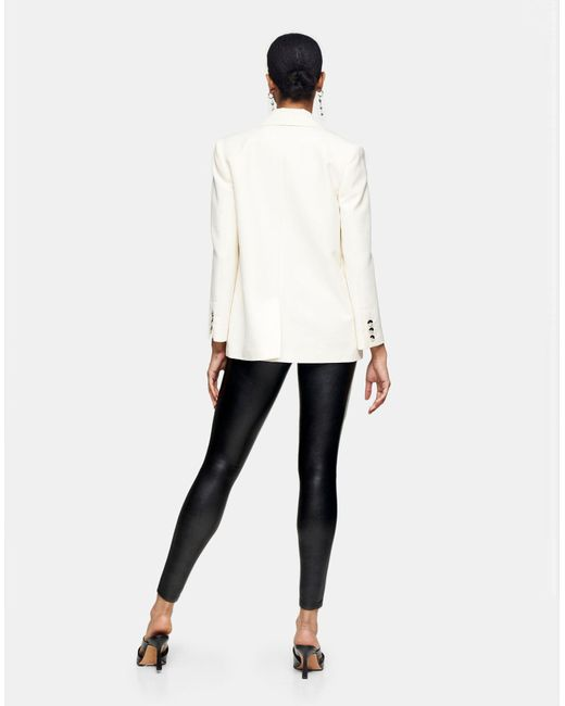 Pantalones TOPSHOP de color Black