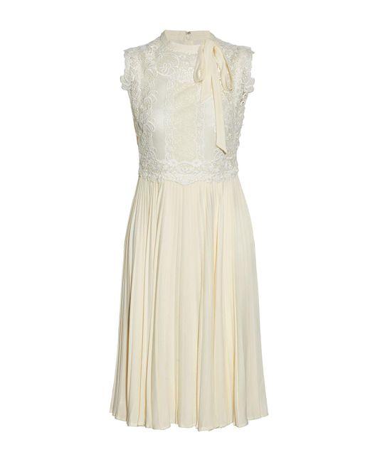 Valentino White Knee-length Dress