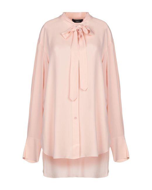 Camisa Theory de color Pink