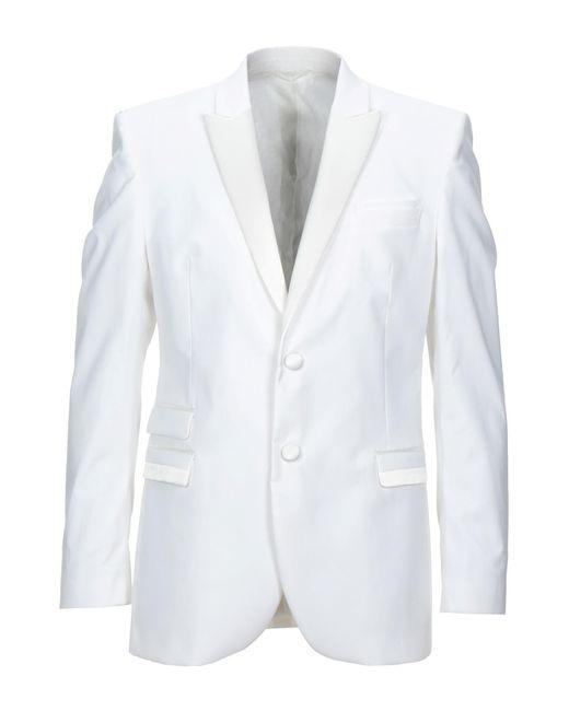 Neil Barrett White Suit Jacket for men