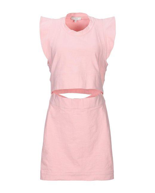 Vestito corto di IRO in Pink