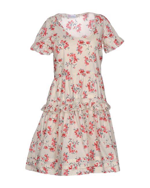 RED Valentino | White Short Dress | Lyst