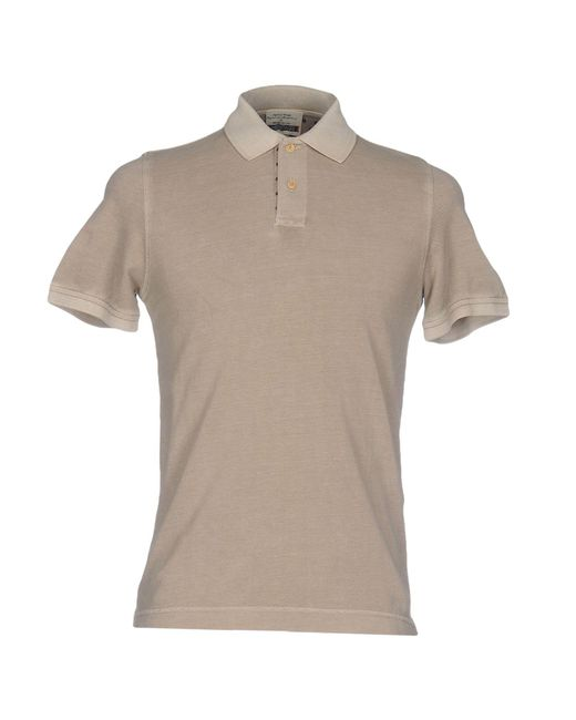 Heritage | Natural Polo Shirt for Men | Lyst