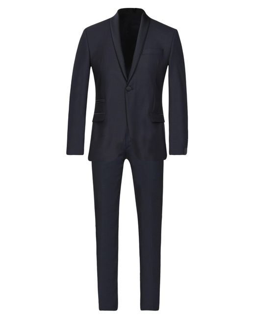 Alessandro Dell'acqua Blue Suit for men