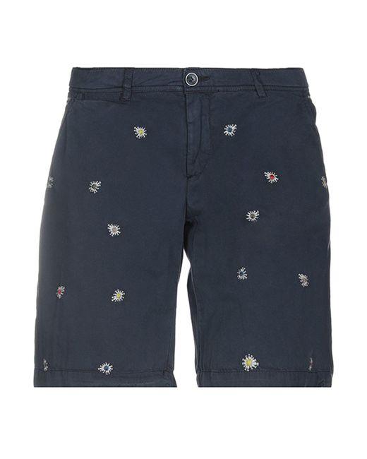 40weft - Blue Bermuda Shorts - Lyst
