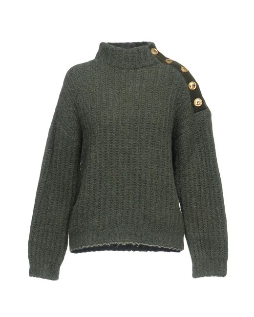 Boutique Moschino - Green Turtleneck - Lyst