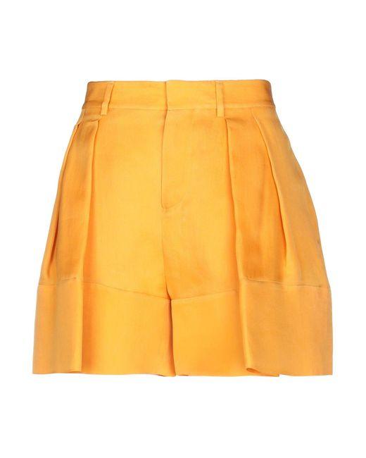 Short DSquared² en coloris Orange