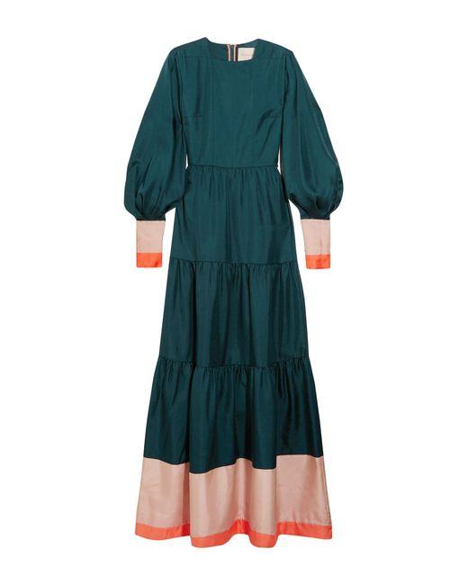 Robe longue Roksanda en coloris Green