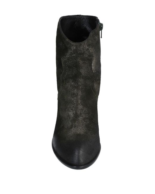 Bottines Strategia en coloris Black