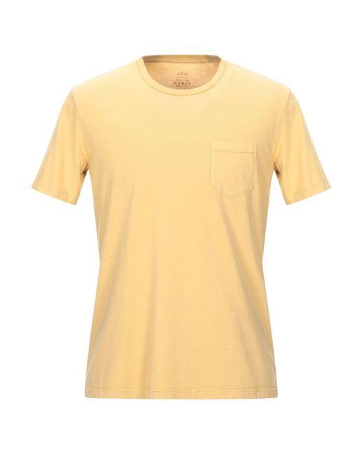T-shirt Altea pour homme en coloris Yellow