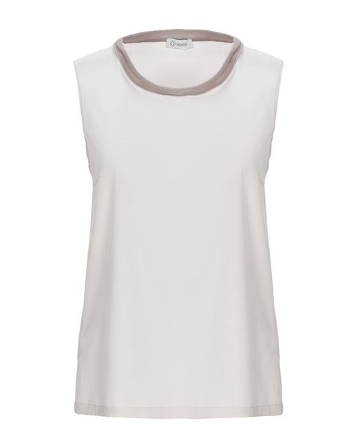 Cappellini By Peserico Gray Top