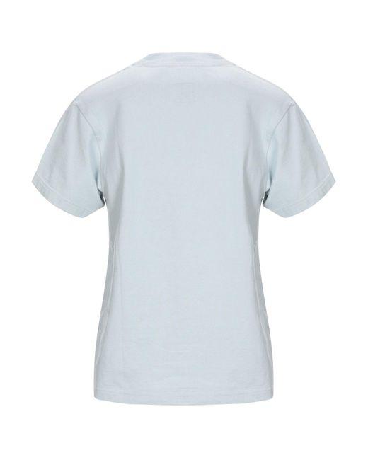 Facetasm Camiseta de mujer de color azul 6DAgL