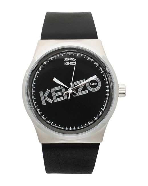 KENZO Black Wrist Watch for men