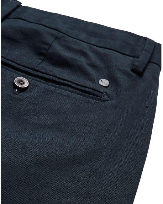 Pantalone di NN07 in Blue da Uomo
