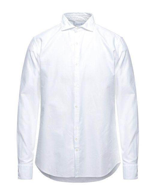 Aglini White Shirt for men