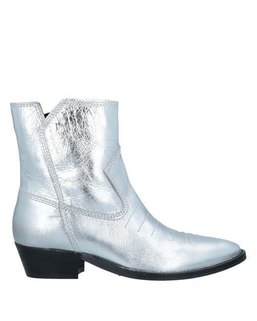 Replay Metallic Ankle Boots