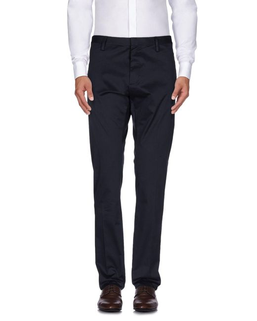 DSquared² - Blue Casual Trouser for Men - Lyst