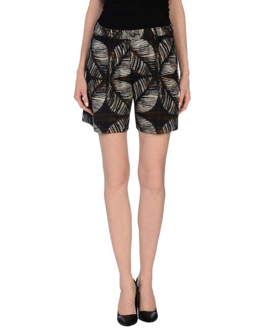 Mini-jupe DSquared² en coloris Black