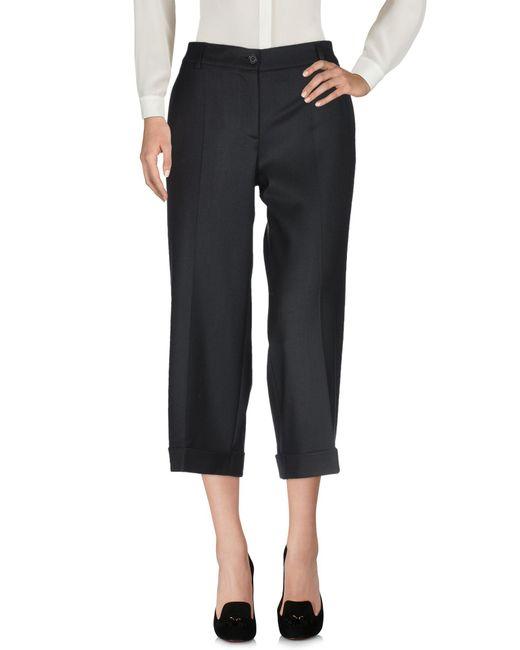 P.A.R.O.S.H. Pantalon femme de coloris noir daWzH