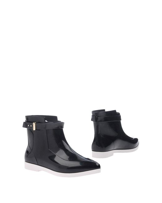 Melissa - Black Ankle Boots - Lyst