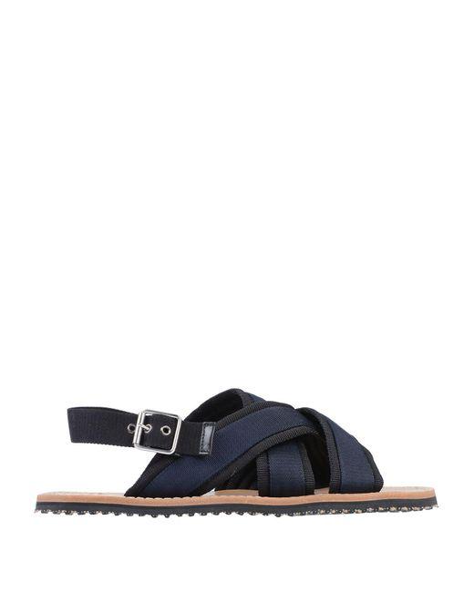 Marni Blue Sandals for men