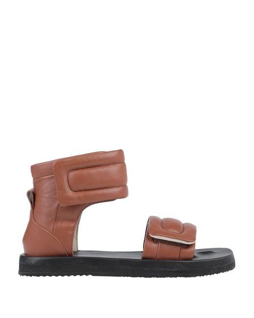 Maison Margiela Brown Sandals for men