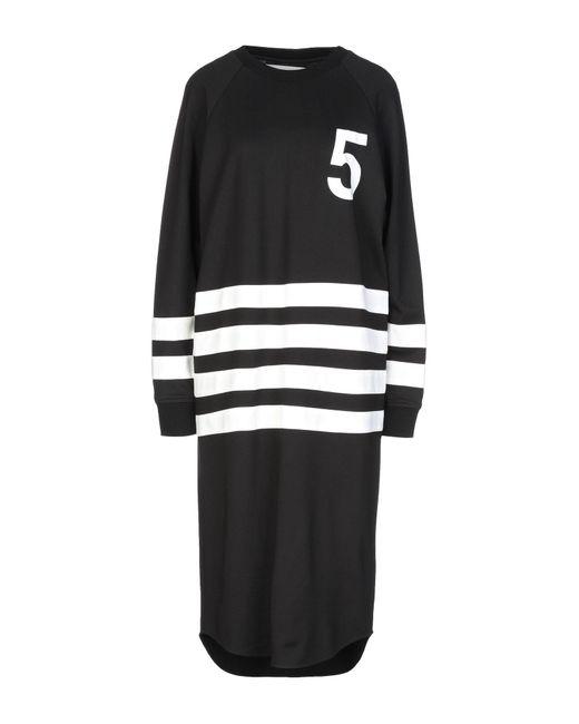 Vestito al ginocchio di 5preview in Black