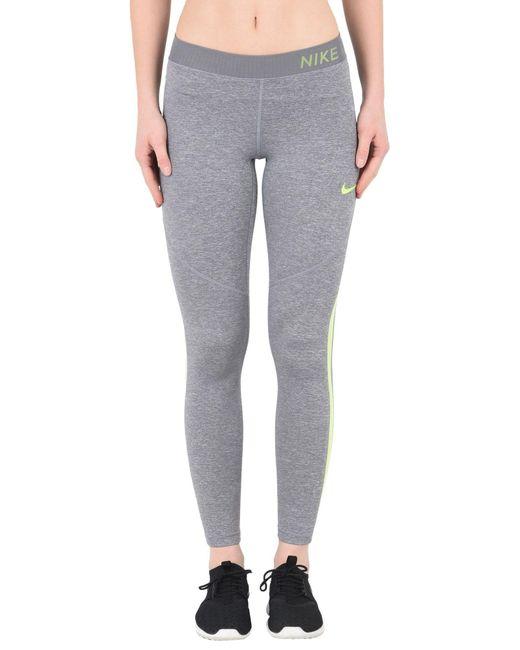 Leggings di Nike in Gray