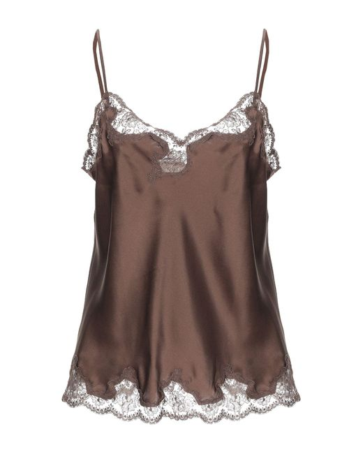 Vivis Brown Sleeveless Undershirt